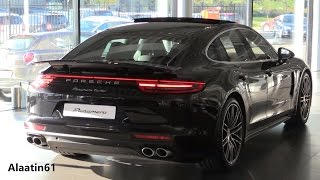 porsche panamera 2017 start up exhaust sound in depth review interior exterior