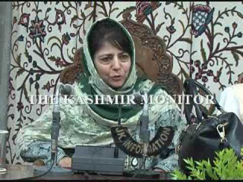 Dialogue is the only way forward: CM Mehbooba Mufti
