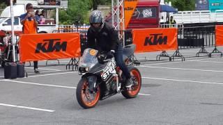 KTM RC 200 STUNT by DARK KNIGHT STREET