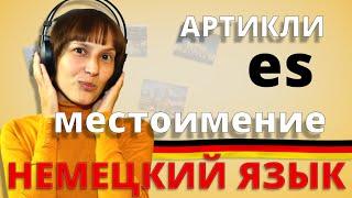 Немецкий: nicht, определенные артикли (А1). Немецкий с Оксаной Васильевой.