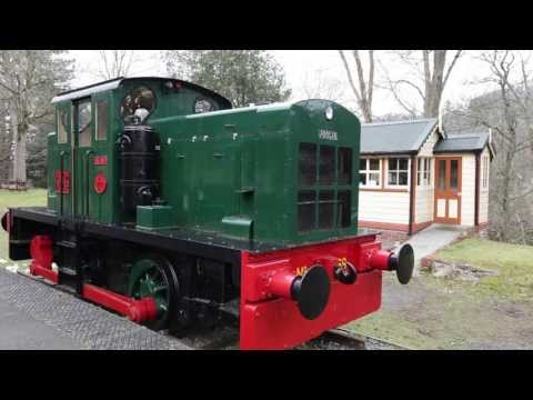 Greentraveller Video of Erwood Station Craft Centre and Gallery, Mid Wales