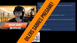 OILERSLIVE Live Talking OILERS SABRES before the game!