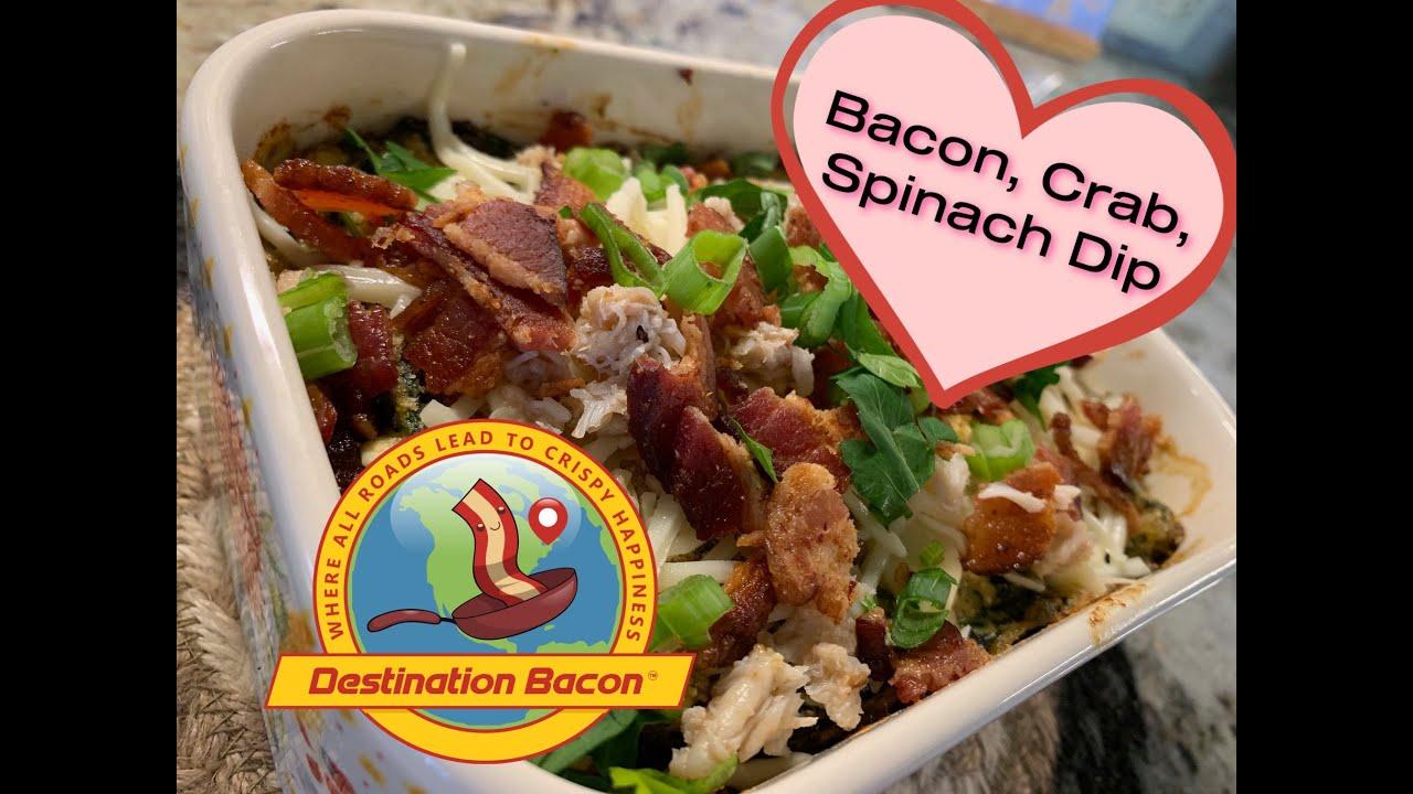 Bacon, Crab & Spinach Dip