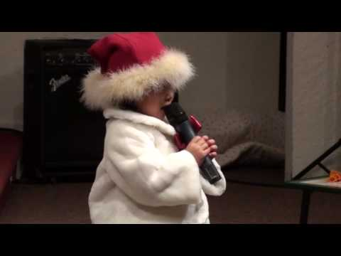 You are Stronger by Grace EunJae Lee (3 yrs old) during 2009 Christmas Eve Service