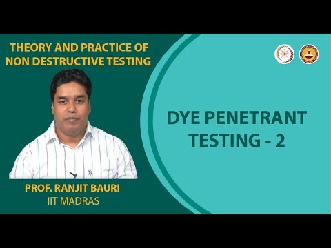Penetrant testing -2