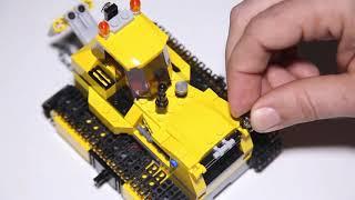 Lego City 60074 Bulldozer Speed Build Review