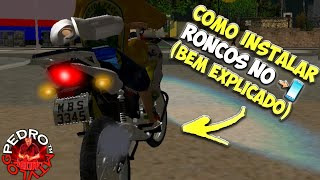 †COMO INSTALAR RONCOS NO GTA SA ANDROID(BEM EXPLICADO)†