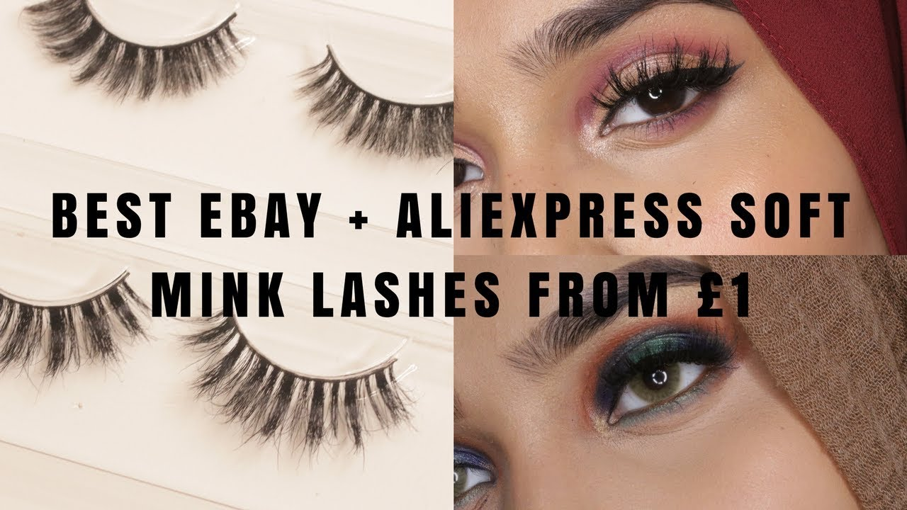 a996e0e7b3a Best Ebay + Aliexpress Mink Eye Lashes From £1 Try On - YouTube