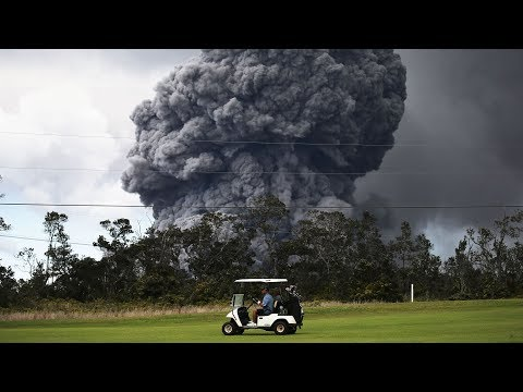 Hawaii's Kilauea volcano erupts