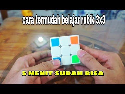 Cara Menyelesaikan Rubik 3x3 untuk pemula Part 2.