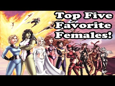 Marvel Super Hero Squad Online My Top Five Favorite Females- HD