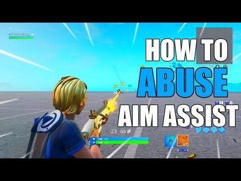 HOW TO *ABUSE AIM ASSIST* IN FORTNITE SEASON 10! FORTNITE HOW TO AIM BETTER SEASON 10!
