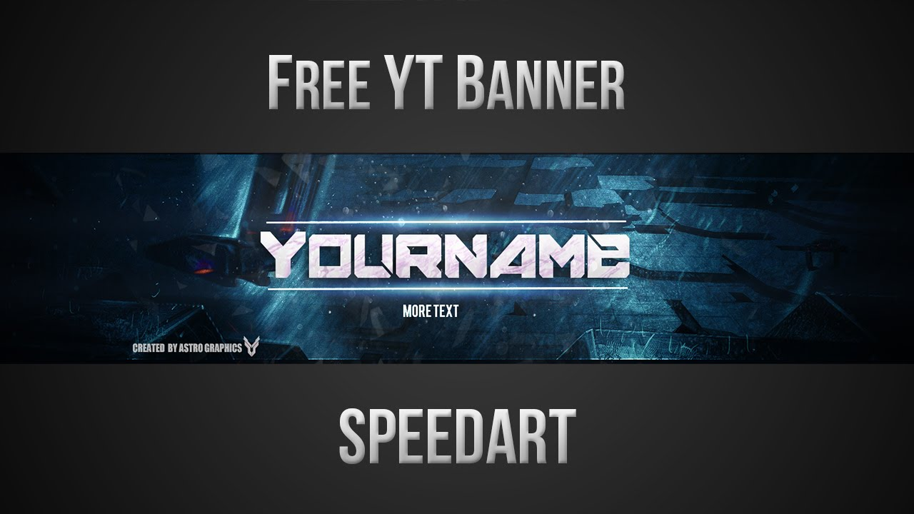 Free YouTube Banner Template (PSD) *NEW 2015* - YouTube