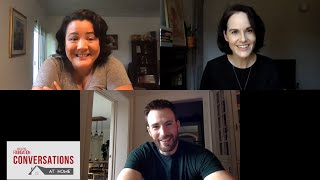 Conversations at Home with Chris Evans & Michelle Dockery of DEFENDING JACOB