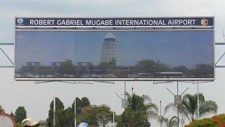 "Robert Mugabe a ""son"" aéroport"