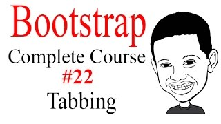 Bootstrap Complete Course #22 TABBING - SIMILAR TO AJAX - COOL STUFF