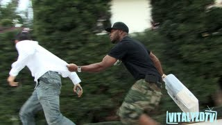 Prank Gone Wrong-Prankster gets smacked in the face!