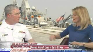 "Cmdr US Fifth Fleet: Bad news for ISIS, ""we"
