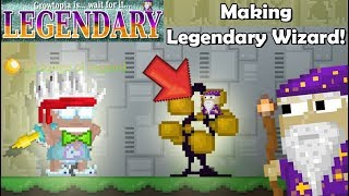 Making Legendary Wizard + Choosing Quest!! [Legendary Blade Ep.1] | GrowTopia