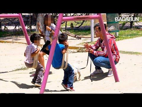 Cuidado: Mira lo fácil que es robarse a un niño