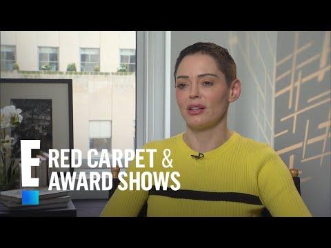 Rose McGowan Praises Fellow Sexual Assault Survivor Kesha | E! Live from the Red Carpet