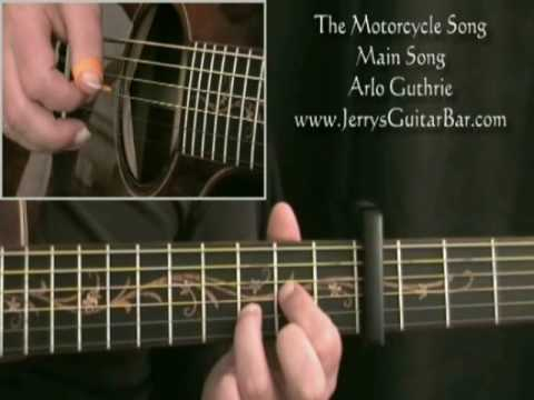 How To Play Arlo Guthrie The Motorcycle Song (preview only)