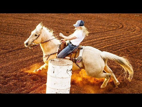 Listen to the Thundering Sounds of Barrel Racing w/ Young Star Jackie Ganter   Sound of Sport