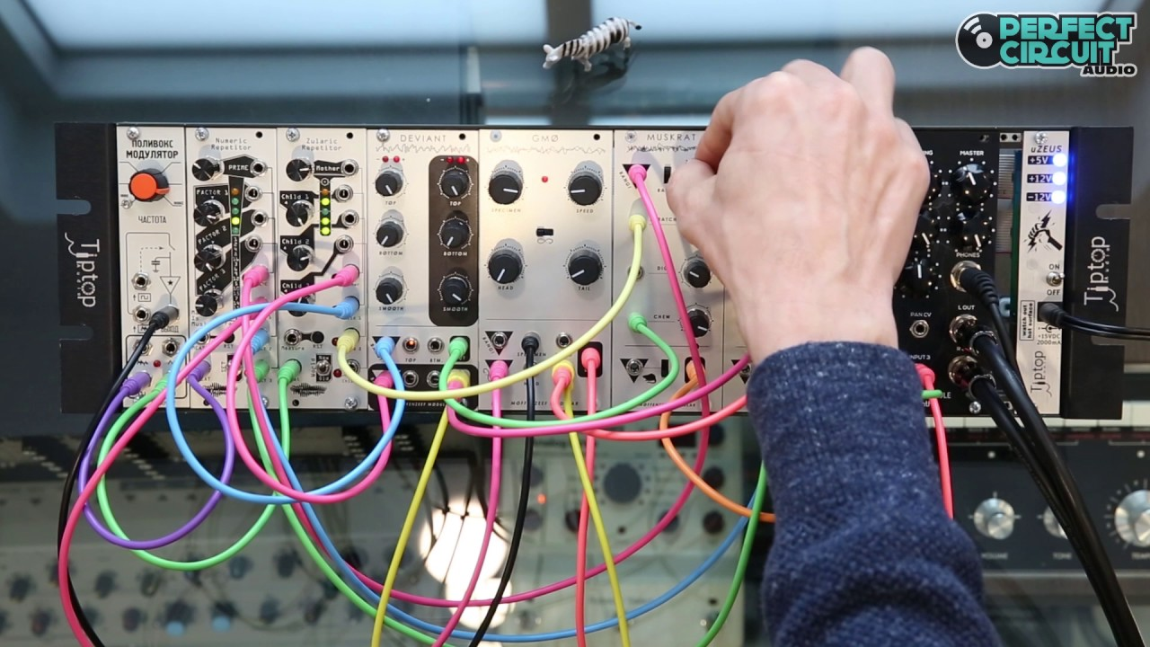 Moffenzeef Modular Muskrats Making Lo Fi Drum Sounds Youtube The Circuit Shown Is Most Interesting Of Several Oscillators Perfect