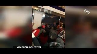 Violencia entre los santiaguinos: ¿cada día más creciente? - CHV NOTICIAS