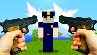 REALISTIC MINECRAFT - ALEX BECOMES A COP! 👮