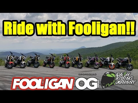 Ride with Fooligan | Dropped my phone at 40mph | Omaha Grom Squad