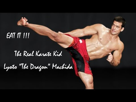 "The Real Karate Kid - Lyoto ""the dragon"" Machida - Moves from UFC to Bellator+Crane Kick"