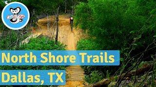 Mountain Biking the North Shore Trail - Dallas TX (Part 1)