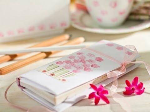 C mo decorar una libreta con washi tape youtube - Como decorar con fotos una pared ...