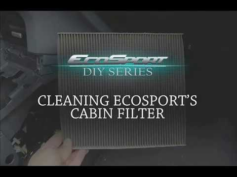 Change Cabin Filter EcoSport