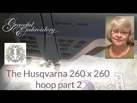 The Husqvarna 260 x 260 hoop part 2   choosing colours