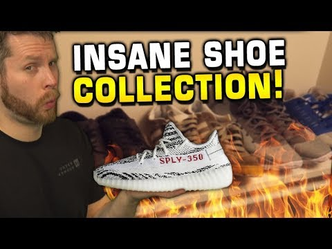 Troydan's Shoe Collection VLOG! So much heat?