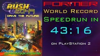 SF Rush 2049 Speedrun: Circuit (Beginner) in 43:16