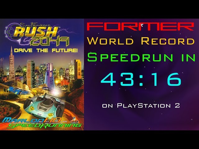 SF Rush 2049 Speedrun: Circuit (Beginner) in 43:16