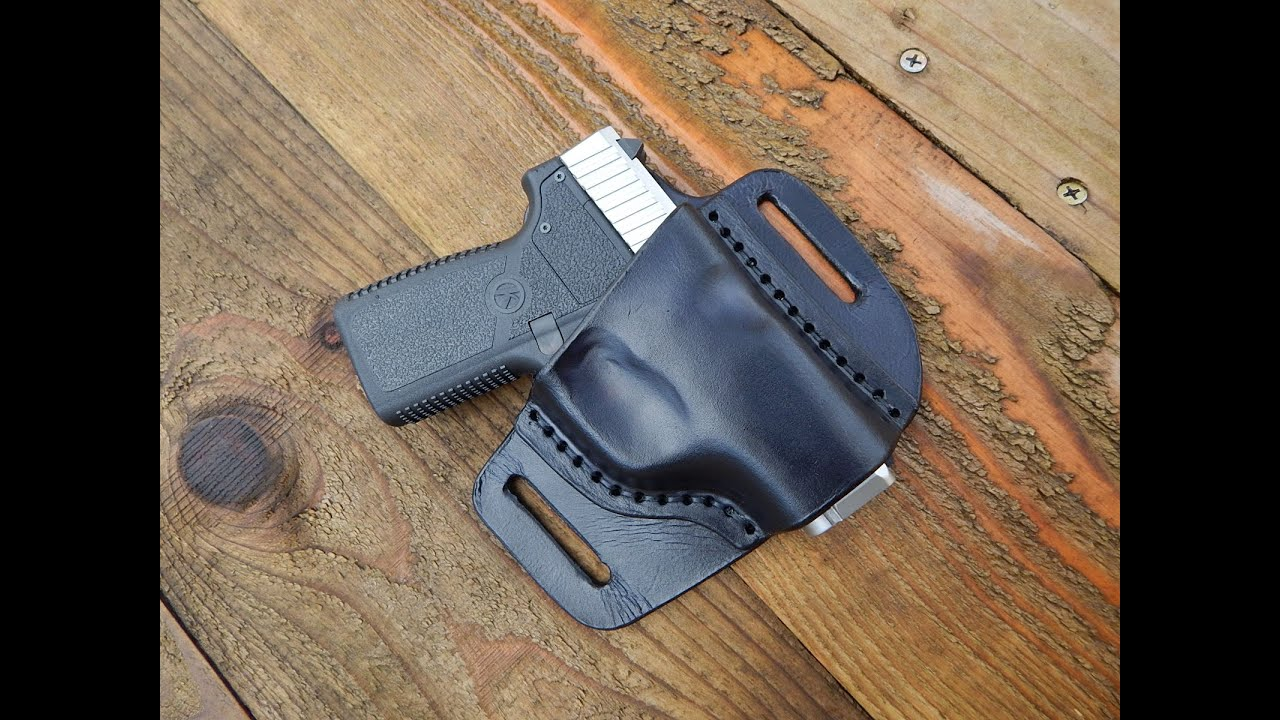 how to make a leather knife holster
