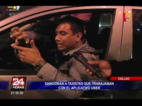 Callao: sancionan a taxistas que trabajan con aplicativo Uber