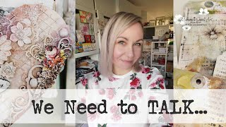 Studio Vlog - We need to talk... ~ ✂️ Maremi's Small Art