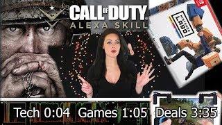 Intel Coachella drones, Call of Duty Alexa Skill Coach, PUBG iOS clip