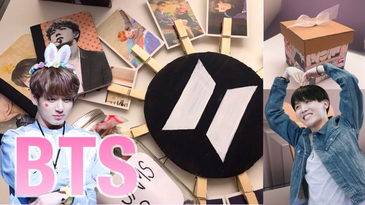 Diy K Pop Gifts Projects Bts Edition Youtube