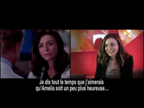 Grey's Anatomy 12: Caterina Scorsone on Amelia Shepherd