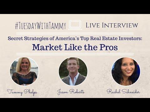 Secret Strategies of America's Top Real Estate Investors  Market Like the Pros