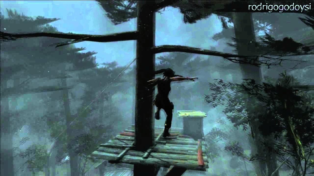 Tomb Raider Localizao Floresta Costeira Mapa De Tesouros YouTube