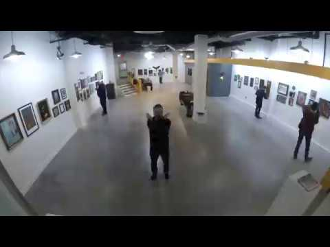 Dearly Departed - Ten Years Of 1975 - Opening Reception Timelapse