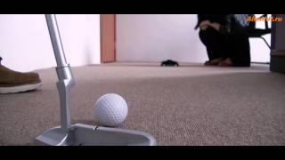 Набор для игры в мини-гольф с автолузой