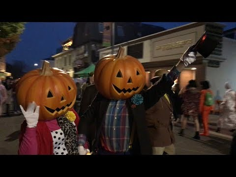 Halloween Night Salem MA 2017- D Tours #79 10/31/17